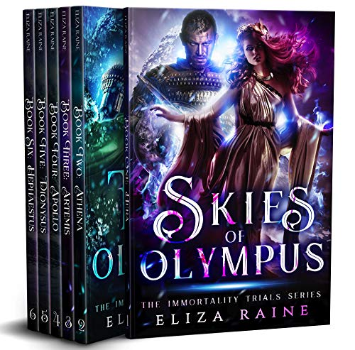 The Immortality Trials: Skies of Olympus by Eliza Raine